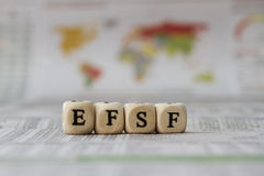 EFSF Royalty Free Stock Photo