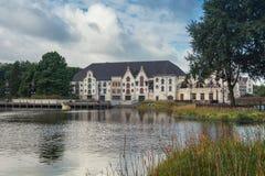 Efteling主题乐园的剧院在荷兰 免版税库存图片