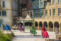 Efteling show  - Theme Park in Holland Royalty Free Stock Photography