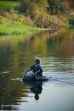 Efter floden Arkivfoto