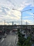 Efter regna Arkivfoton