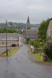 Efter regnet i bergen i Frankrike Region Midi Pyrenees Arkivfoto