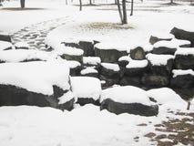 Efter snowen Royaltyfria Bilder