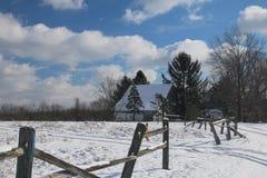 Efter snowen Fotografering för Bildbyråer