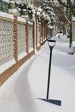 Efter snowstorm Royaltyfri Foto