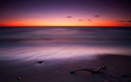 Efter solnedgång Arkivbild