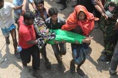EfterdyningRanaplaza i Bangladesh (mappfotoet) Arkivbilder