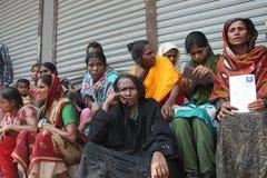 EfterdyningRanaplaza i Bangladesh (mappfotoet) Arkivbild