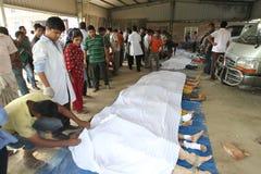 EfterdyningRanaplaza i Bangladesh (mappfotoet) Arkivfoto