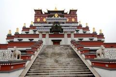 Efterföljd av Tibet byggnad Royaltyfri Foto