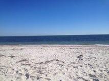 Eftermiddag på stranden Arkivbild