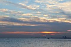 Eftermiddagsikt istanbul Fotografering för Bildbyråer