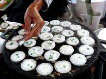 Efterrätt av thailändsk sweetmeat Royaltyfri Fotografi