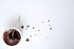 Efterrätt - chokladkaka Royaltyfri Fotografi