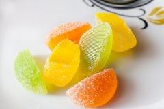 efterrätt för gelatin för marmelad för gelésockergodis Royaltyfria Foton