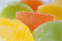 efterrätt för gelatin för marmelad för gelésockergodis Arkivbilder