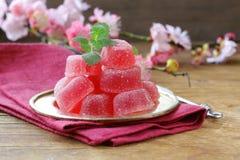 Efterrätt för hemlagad jujube för bärfrukt söt Fotografering för Bildbyråer