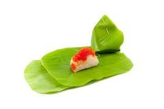 Efterrätt för klibbiga ris Royaltyfri Bild