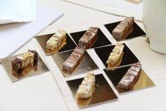 Efterrätter och kakor Royaltyfria Foton