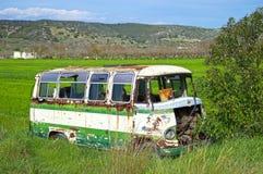 Eftersatt mikro-buss royaltyfri bild