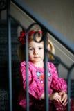 eftertänksam flicka Fotografering för Bildbyråer