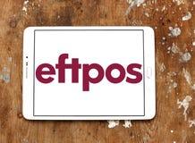 EFTPOS-het embleem van het betalingssysteem stock foto's
