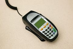 Eftpos Machine Royalty Free Stock Photos