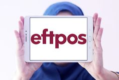 EFTPOS payment system logo stock image