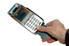 Eftpos terminal Royalty Free Stock Images