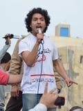 Egípcios que demonstram de encontro ao Conselho militar foto de stock royalty free