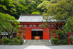 Egaratenjinsha Shrine. A shinto shrine in Kamakura, Japan Royalty Free Stock Photos