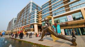 Egeïsch het Winkelen van China Shanghai Park stock fotografie