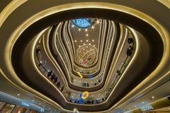 Egeïsch het Winkelen van China Shanghai Park stock afbeeldingen