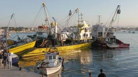 EGEÏSCHE KUST, DIDIM, TURKIJE - OKTOBER 17, 2015 stock video