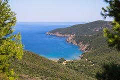Egeïsche overzees, Griekenland Royalty-vrije Stock Fotografie