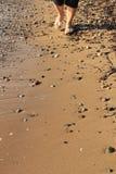 Egeïsche overzees - strand Stock Foto