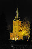 Egebæksvang教会,丹麦 库存图片