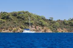 Egejski wybrzeże Obraz Stock