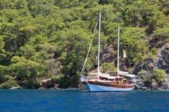 Egejski wybrzeże Zdjęcie Royalty Free