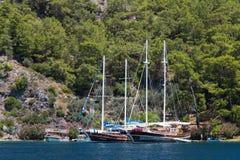 Egejski wybrzeże Fotografia Royalty Free