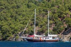 Egejski wybrzeże Obrazy Royalty Free
