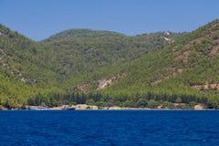 Egejski wybrzeże Obraz Royalty Free