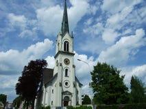 Egelshofen, église reformée suisse dans Kreuzlingen image libre de droits