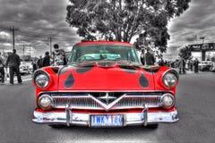 Egen målad amerikansk 50-tal Ford Arkivfoton