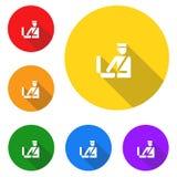 Egenar symbol, tecken, bästa illustration 3D royaltyfri illustrationer