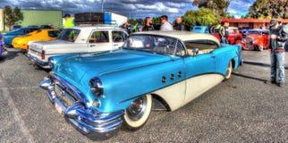 Egenn planlade den amerikanska 50-tal Buick Royaltyfria Foton