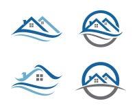 Egenskap Logo Template Royaltyfri Bild