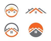 Egenskap Logo Template Arkivfoton