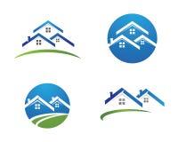 Egenskap Logo Template Arkivbilder
