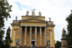 Eger大教堂  免版税库存图片
